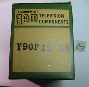 Y90F19/43 Ram CRT Yoke Replacement Part High Voltage Television TV - NOS Qty 1
