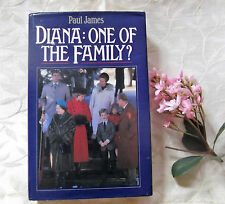 Princess Diana One of the Family? HC book with photographs from England HTF