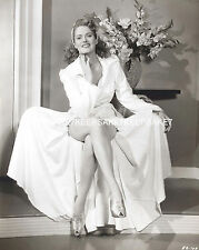 ACTRESS STEPHANIE BACHELOR GOWN WIDE OPEN SHOWING OFF HER LEGS 8X10 PHOTO A-SB1
