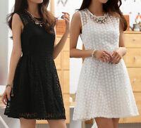 Women Ladies Casual Party Summer Dress Clubwear AU Size 8 10 12 14 16 18 #3569