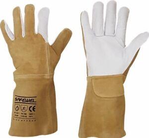 **Best Price** Premium Leather TIG Welders Welding Gardening Gardeners Gloves