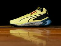Puma Basketball Uproar Spectra LimeLight Yellow Black Hoops Men New 192979-03