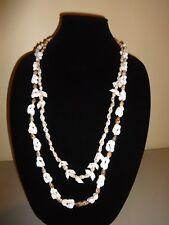 Hilo Hattie Shell Necklaces Lot Two 2 Hawaiian Luau Bride Groom Set Wedding Lei