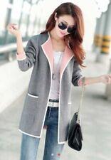 Unbranded Cotton Blend Outer Shell Blazer Coats, Jackets & Waistcoats for Women
