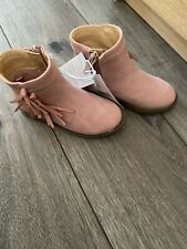 Bnwt Mothercare Infant size 5 Pink Boots