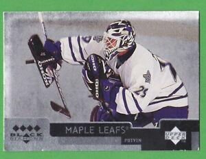 1997-98 Black Diamond Quadruple Diamond #5 Felix Potvin Toronto Maple Leafs