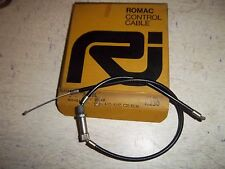 BSA  A65L 1st SECTION AIR CABLE 1967-73 UK MADE BY ROMAC 60-0823 T230