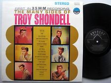 the Many Faces of TROY SHONDELL  Teen Popcorn Pop Rock NEAR-MINT REISSUE CC