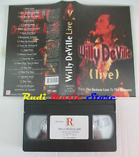 VHS WILLY DEVILLE MINK DE VILLE live from the bottom line olympia cd mc dvd(VM8)