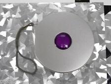 6 Rare Round Multi-10 CD DVD Tin Case w/Inner Sleeve Purple Dot, (M-T 10-WO-N)