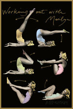 Marilyn Monroe (Working Out) Movie Poster Print Movie Poster Print, 24x36