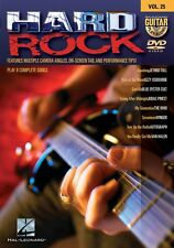 Hard Rock Guitar Play-Along DVD NEW 000320881