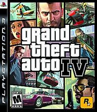 Grand Theft Auto IV 4 PS3 (PlayStation 3, 2008) Complete w/ Map & Guidebook
