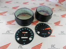 Honda CB 750 Four K0 Gauge Bezel Covers + Face Plates Speedometer Tachometer KMH