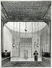 PROPHET Mohammed Serail Reliquien Topkapi Istanbul TÜRKEI 1840 Kutsal Emanetler