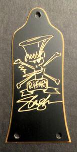 GUITAR TRUSS ROD COVER Engraved Etched EPIPHONE - Guns N Roses SLASH BLACK GOLD
