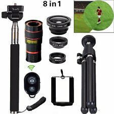 Manual Focus Flux HD Zoom Style LENS HD 12X Optical Zoom Telescope Lens iPhone 7