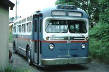 Hazelton Area Transit GM Old Look bus Kodachrome original Kodak slide