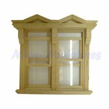 Dolls House Large Georgian Sash Window Frame 1/12th Scale (00517)
