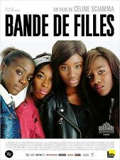 Affiche 120x160cm BANDE DE FILLES 2014 Karidja Touré, Assa Sylla, Karamoh NEUVE