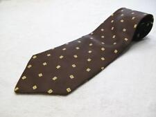 "Cama Men's Tie Italsilk  Brown 56"" x 4""  Made in Italy  Wide BOGO 50% OFF (30)"