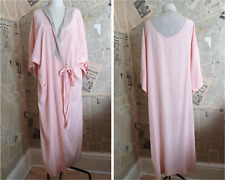 Vintage 1930's silk and lace robe
