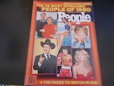 Brooke Shields, Ronald Reagan, Robert Redford - People Magazine 1981
