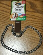 """2 Lot 14"""" Chokechain Small Dog Choke Chain Collar For Training @ My Other Items"""