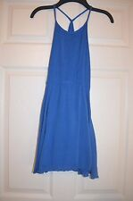 DKNY Girls Blue Summer Lined Dress Size L Large