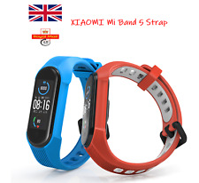 For Xiaomi Mi Band 5/6 Mi 5/6 Replacement Silicone Watch Band Strap UK Seller