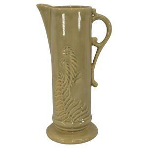 Roseville Pottery Mayfair 1952 Beige Art Deco Tankard 1107-12