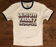 LeHigh Valley IronPigs MiLB Baseball 108 Stitches T-Shirt Men's Large NWOT