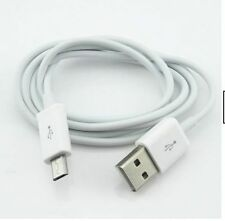 Pure White 1M USB Data Cables & Adapters Suit For Samsung Galaxy HTC Sync Simple