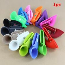 New Portable Loud-speaker Silicone Sound Soft Amplifier Horn Stand