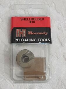 NEW Hornady Shell Holder #10 357 SIG, 10MM, 40 S&W Reloading