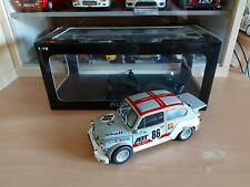 FIAT ABARTH 1000 TCR - 1/18 AUTOART ARTIGIANALE - WINNER 24H SPA 1970 cod. 72641