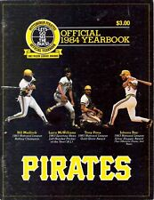 1984 PITTSBURGH PIRATES YEARBOOK THREE RIVERS PENA MADLOCK RAY COVER CLEMENTE IN