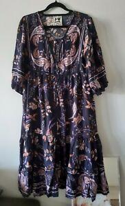 JAASE BOHO DRESS SIZE SMALL NWOT