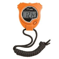 Champion Sports Running Walking Stop Watch-Stopwatch-Alarm -Orange