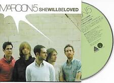 MAROON 5 - She will be loved CD SINGLE 2TR EU CARDSLEEVE 2004 RARE!