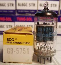 Vintage Philips ECG Sylvania Gold Brand 5751 Vacuum Tube NOS NIB 12AX7