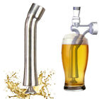 1X Turbo Tap Minimized Flow Turbulence Reduce Beer Foam 304 Stainless Steel USA