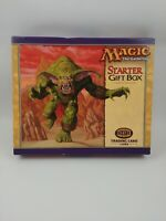 WOTC 1999 Magic The Gathering Starter Gift Box New Unused Open Box See Details