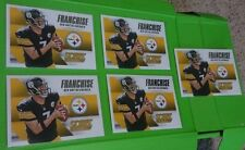 Lot of 5 Ben Roethlisberger 2015 Score Football Franchise Inserts #10. Steelers