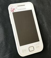 Samsung La Fleur - GT-S5250 - Wave 525 - weiß/pink - ohne Simlock
