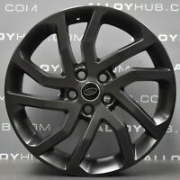 """GENUINE LAND ROVER DISCOVERY 4/3 5011 20"""" INCH TECH GREY HSE ALLOYS WHEELS X4"""