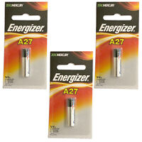 3x Energizer A27BP Alkaline 12V Battery A27 G27A MN27 L828  FAST USA SHIP