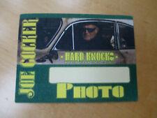 Joe Cocker - Hard Knocks 2007 Tour - Photo - Backstage Pass