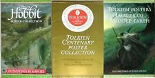 Jrr Tolkien ~ Middle Earth Poster Collection ~ 3 Art Portfolios ~Images Oop!