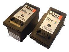 2x CARTUCHO TINTA para Canon Pixma MG3550,MX395,MX455,MX525